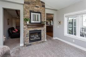 stone double sided gas fireplace enjoy