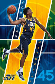 Nba Utah Jazz Donovan Mitchell 18