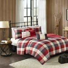 country farmhouse rustic red plaid