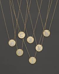 jane basch 14k yellow gold circle disc