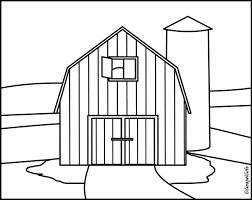 Barn Clip Art Black And White Christian Clip Art Coloring Picture Clipartandscrap