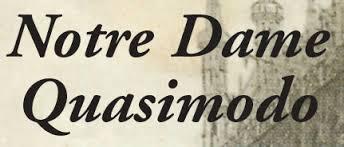 Notre Dame Quasimodo - Inforegio.be