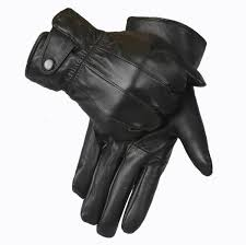 mens black leather gloves perfect for