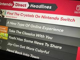 Nintendo switch direct leak - Imgur