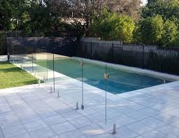 Glass Pool Fencing Brisbane With Hi Liner Pool And Aluminium Fencing