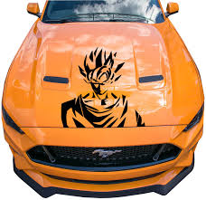 Car Vinyl Wrap Dragon Ball Graphics Decal Goku Anime Custom Sticker Fit Any Auto Ebay