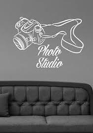 Photo Studio Logo Wall Decal Camera Vinyl Window Sticker Art Salon Decor Pst1 Ebay