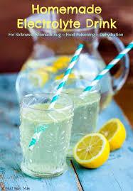 homemade electrolyte drink recipe