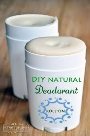 diy natural roll on deodorant non