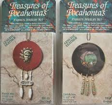 2 bead leather jewelry kits pendants