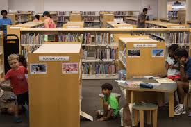 Kids Room Chapel Hill Public Library