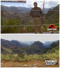 This Location Was Crazy Remote Electric Fence Then And Now From Our Jp Episode Jurassicpark