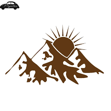 Window Sticker Car Rv Hunting Outdoor Vinyl Decal Usa Wolf Decal