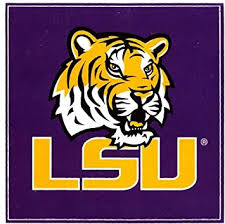 Amazon Com 4 Inch Mike The Tiger Decal Lsu Tigers Louisiana State University Logo La Removable Wall Sticker Art Ncaa Home Room Decor 4 By 4 Inches Baby