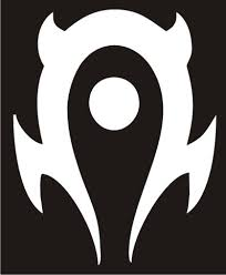 World Of Warcraft Horde 2 Logo Wow Vinyl Decal Sticker Texas Die Cuts