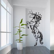 Unicorn Beautiful Vinyl Wall Art Decal