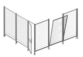 Safety Fence System Flexible Safety 30 Alvaris Profile Systems