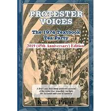 Protester Voices—The 1974 Textbook Tea Party 2019 (45th ...