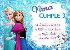 Invitaciones Infantiles Cumpleanos Frozen Minion Mickey Pony