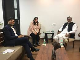 """Dr. Praveen Singh on Twitter: """"Met with the noble peace prize laureate Mr.  Kailash Satyarthi with my wife Mrs. Chitwan Singh, director Buddhist  Economic and Cultural Council to discuss the upcoming event #"""