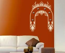 Ornament Bow Wall Decal Hanger Style And Apply