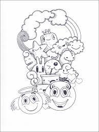 Emojis Emoticons Emoties Kleurplaat Printen 16