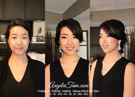 soft makeup short hair updo wedding
