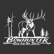 Bowhunter Elk Decal