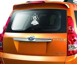 Avatar On Fire The Last Airbender Decal Stickers For Cars Window Car Car Stickers Car Window Decals