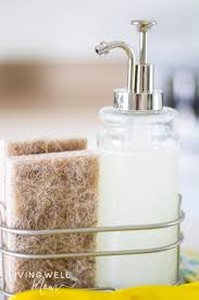 easy grease cutting homemade dish soap