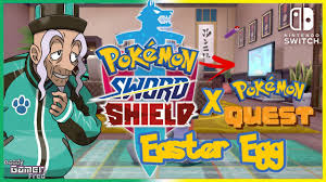 Pokemon Quest Easter Egg in the Pokemon Sword and Shield DLC The ...
