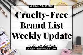 free brand list weekly update