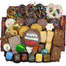 holiday gift basket from the sweet tooth