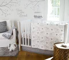 The Levtex Baby Night Owl 5pc Bedding Set Grey Includes A Quilt 100 Cotton Crib Fitted Sheet 3 Tiered Elephant Crib Bedding Levtex Baby Crib Bedding Sets