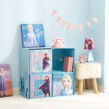 Disney Frozen 2 Kids Storage Cubby Set Walmart Com Walmart Com