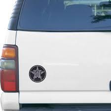 Houston Astros Bling Emblem Car Decal