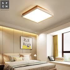 led ceiling light modern acrylic alloy
