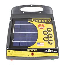 Zareba 15 Mile Solar Low Impedance Fence Charger Walmart Com Walmart Com