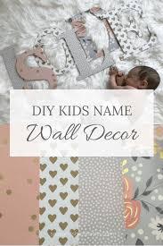 Diy Wood Letter Kids Name Decor Baby Boy Nursery Ideas Name Wall Decor Baby Wall Decor Nursery Name Decor