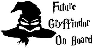 Harry Potter Future Gryffindor On Board Baby On Board Etsy