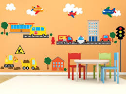 Car Wall Decals Airplane Wall Decal Construction Truck Wall Etsy