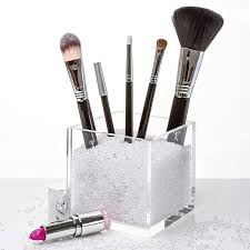 sephora makeup brush holder round gl