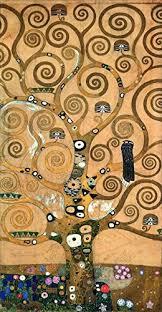 oil painting gustav klimt the tree of