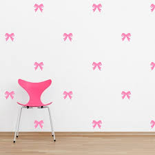 Mini Ribbons Wall Quote Decal Bow Decal Bow Sticker Etsy
