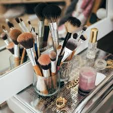 diy makeup brush holder tutorials