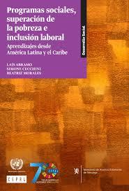 Programas Sociales Superacion De La Pobreza E Inclusion Laboral