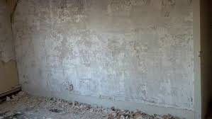 wallpaper and a layer of skim coat