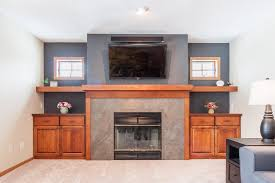 family room fireplace remodel degnan