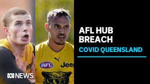 Two Richmond AFL players sent home from ...