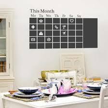 Chalkboard Calendar Wall Decal Allposters Com